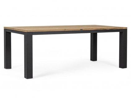 Masivní týkový jídelní stůl Bizzotto Spencer 200 cm
