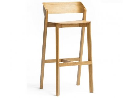 Dubová barová židle Ton Merano