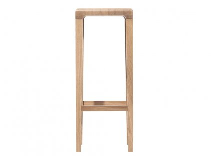 Dubová barová židle Ton Rioja 80 cm