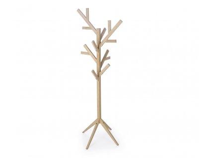 Přírodní dřevěný věšák Bizzotto Daiki 169 cm