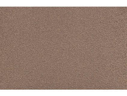 Nugátově hnědá čalouněná rohová pohovka Twilight 274 cm, pravá