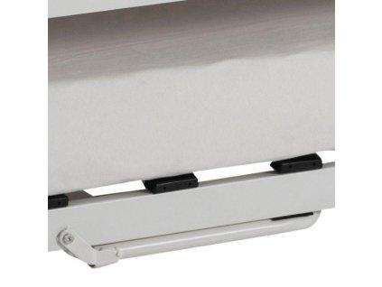 Bílá kovová postel Oli 90x200 cm
