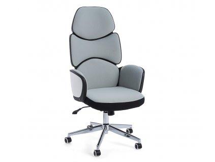 Šedá čalouněná kancelářská židle Bizzotto Armstrong