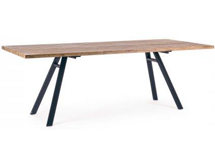Teakový jídelní stůl Bizzotto Vermon 220 x 98 cm
