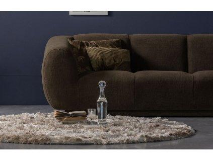 Nugátově hnědý koberec Candy 200 cm