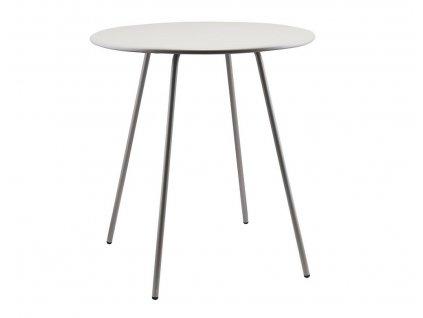 Šedý kovový bistro stolek Pl Series 75 cm