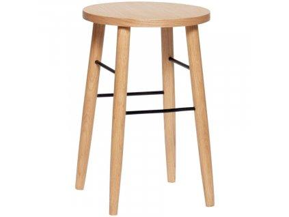 Dubová stolička Hübsch Alima 52 cm