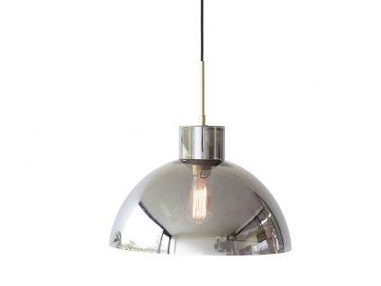 Skleněné závěsné světlo Hübsch Brasol 40 cm