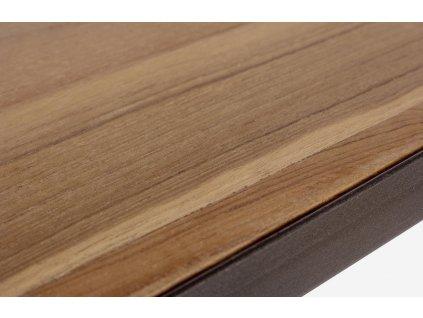 Přírodní teakový TV stolek Bizzotto Lendon 152 cm