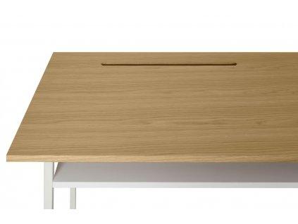 Přírodní dubový pracovní stůl