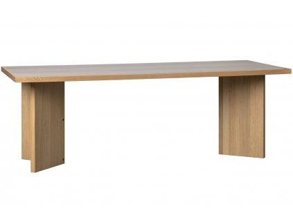 Dubový jídelní stůl Skinner 220 x 90 cm