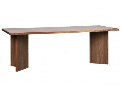 Ořechový jídelní stůl Skinner 220 x 90 cm