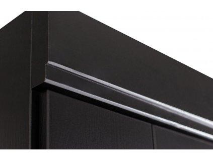 Černá dřevěná skříň Ernie 94 x 53 cm