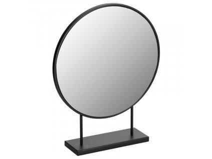 Černé stolní zrcadlo LaForma Libia 36x45 cm