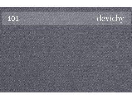 Šedá čalouněná rohová rozkládací pohovka DEVICHY Rothe, pravá 277 cm