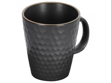 Černý keramický hrnek LaForma Manami