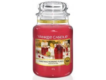 Velká vonná svíčka Yankee Candle Christmas Morning Punch