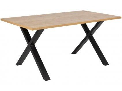 Dubový jídelní stůl Brusom 160x90 cm
