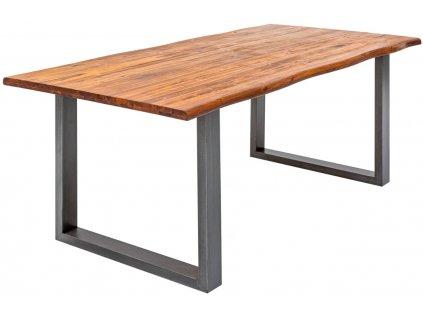Masivní akátový jídelní stůl Gemini 140 x 80 cm