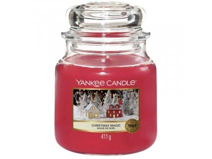 Střední vonná svíčka Yankee Candle Christmas Magic