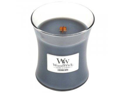 Malá vonná svíčka Woodwick, Evening Onyx