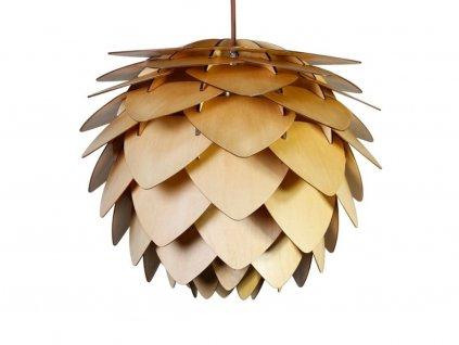 Dřevěné závěsné svítidlo Cono