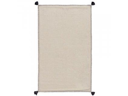 Béžový látkový koberec LaForma Anahi 90 x 150 cm