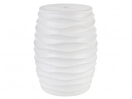 Bílá keramická stolička Bizzotto Sfinge 46 cmNávrh bez názvu 2020 12 10T144843.753