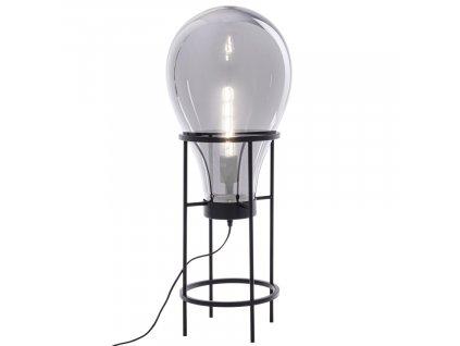 Černá kovová stolní lampa Bizzotto Shaine Bulb