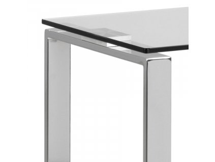 Skleněný toaletní stolek Divo 110 x 40 cm