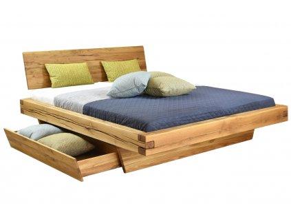 Masivní dubová postel Matteo 160 x 200 cm