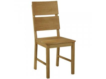 Masivní dubová jídelní židle Sara
