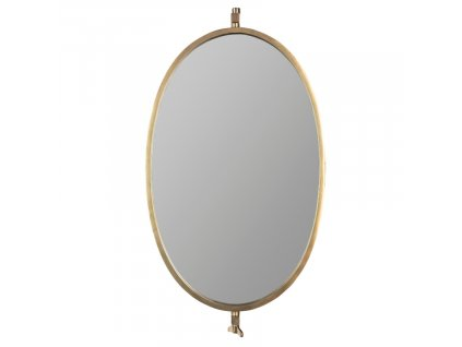 Mosazné nástěnné zrcadlo WLL LARA