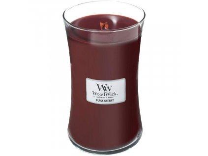 Velká vonná svíčka Woodwick, Black Berry