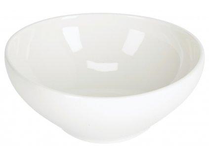 Malá bílá porcelánová miska LaForma Pahi