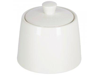 Bílá porcelánová cukřenka LaForma Pierina