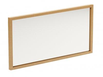 Dřevěné nástěnné zrcadlo Thia 120 x 60 cm