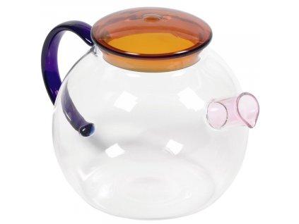 Skleněná konvice na čaj LaForma Dusnela