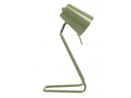 Zelená kovová stolní lampa Treu