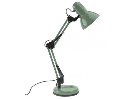 Zelená stolní lampa Reino