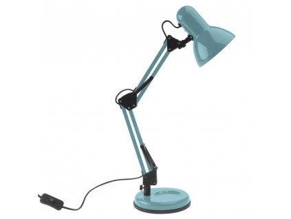 Zelená kovová stolní lampa Reino 55 cm