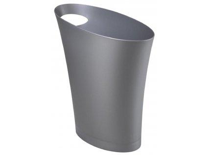 Stříbrný odpadkový koš Hopper