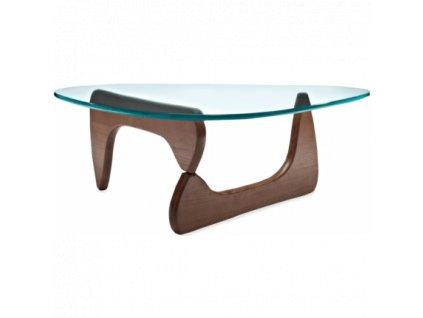 Designový konferenční stolek Milano 125x90, ořech