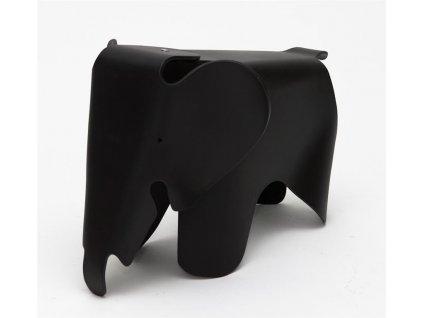 Dětská stolička Slon, černá