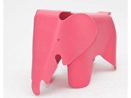 Dětská stolička Slon, růžová