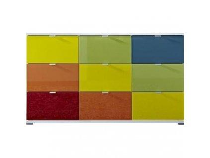 Komoda Germania Colorado 3455 144 x 40 cm, více barev