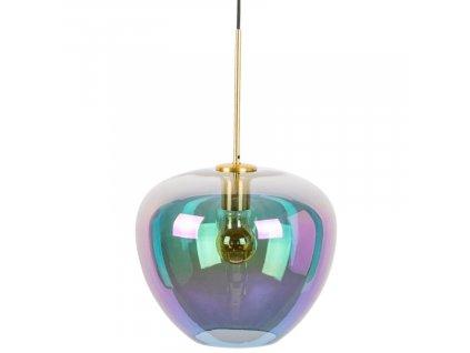Duhové skleněné závěsné světlo Bold Monkey Bubble M
