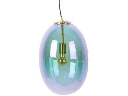 Duhové skleněné závěsné světlo Bold Monkey Bubble L