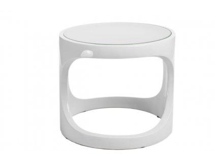 Odkládací stolek Cernobbio 52 cm, bílý