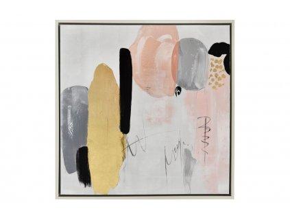 Abstraktní obraz Miotto Tarsia 80 x 80 cm1309x848